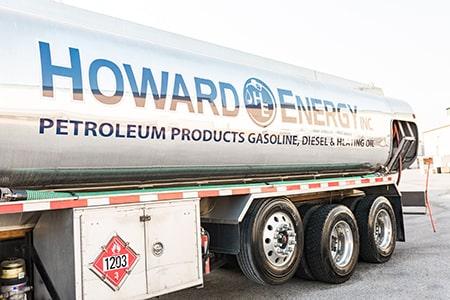 Side View of Howard Energy Tank Truck